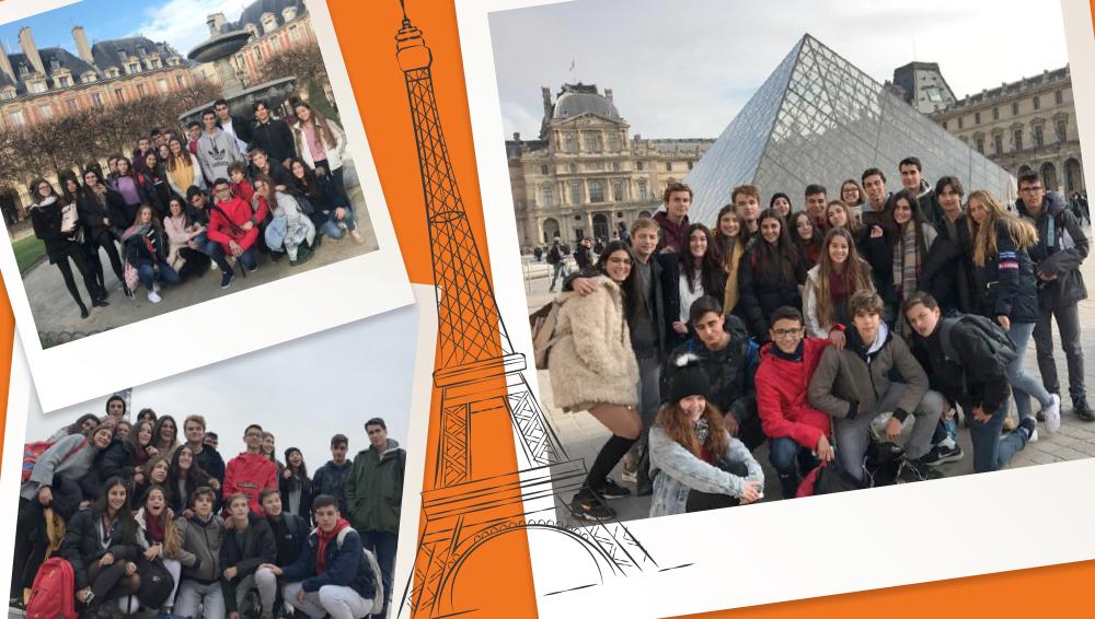 Alumnos de viaje de estudios