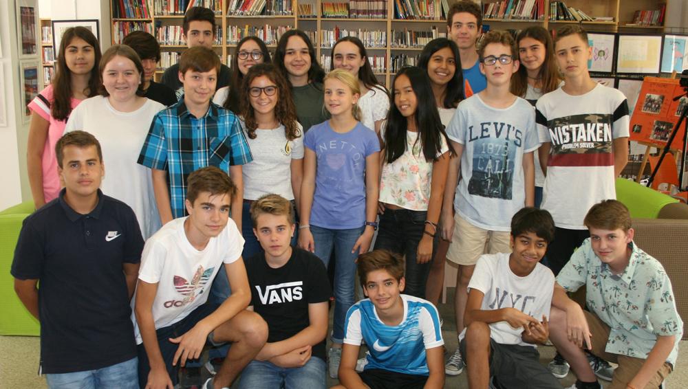 Alumnos de intercambio EE.UU y Francia