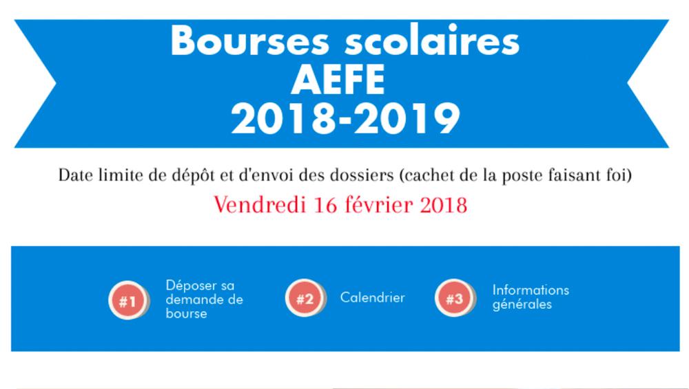 Becas escolares 2018/2019 - BOURSES SCOLAIRES 2018-2019
