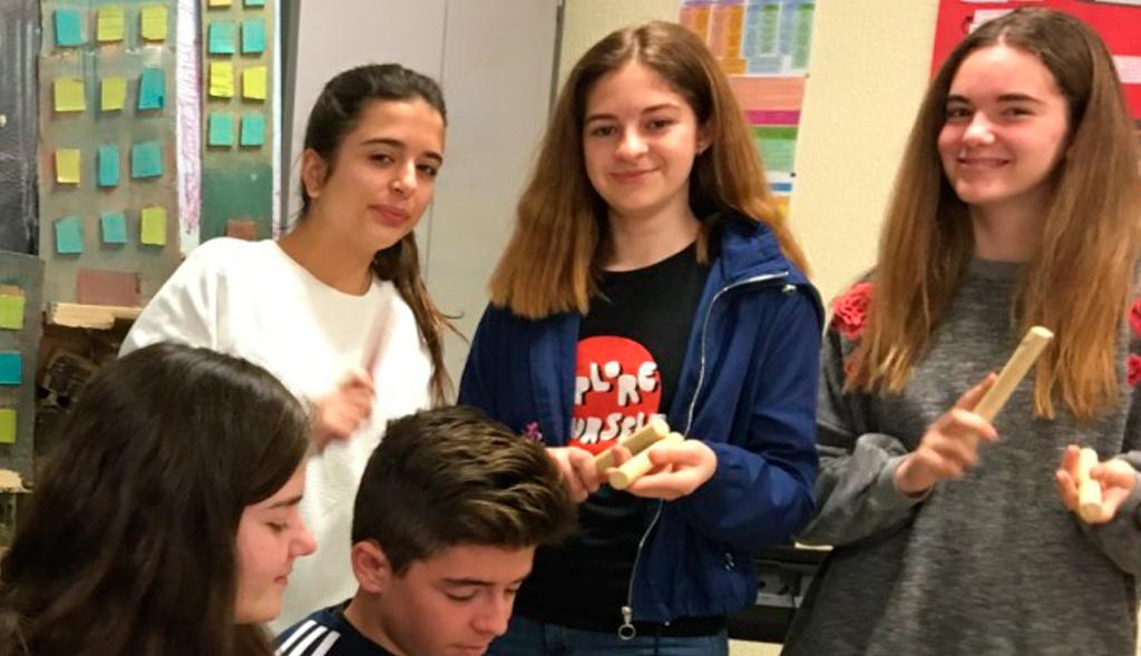 Liceo Francés Internacional Murcia Proyecto pluridisciplinario Con las clases de 2º de la ESO Música-Inglés
