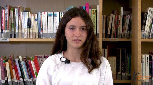 La experiencia de Lucía y Victoria que comenzaron con 12 años en el Liceo Francés Internacional de Murcia