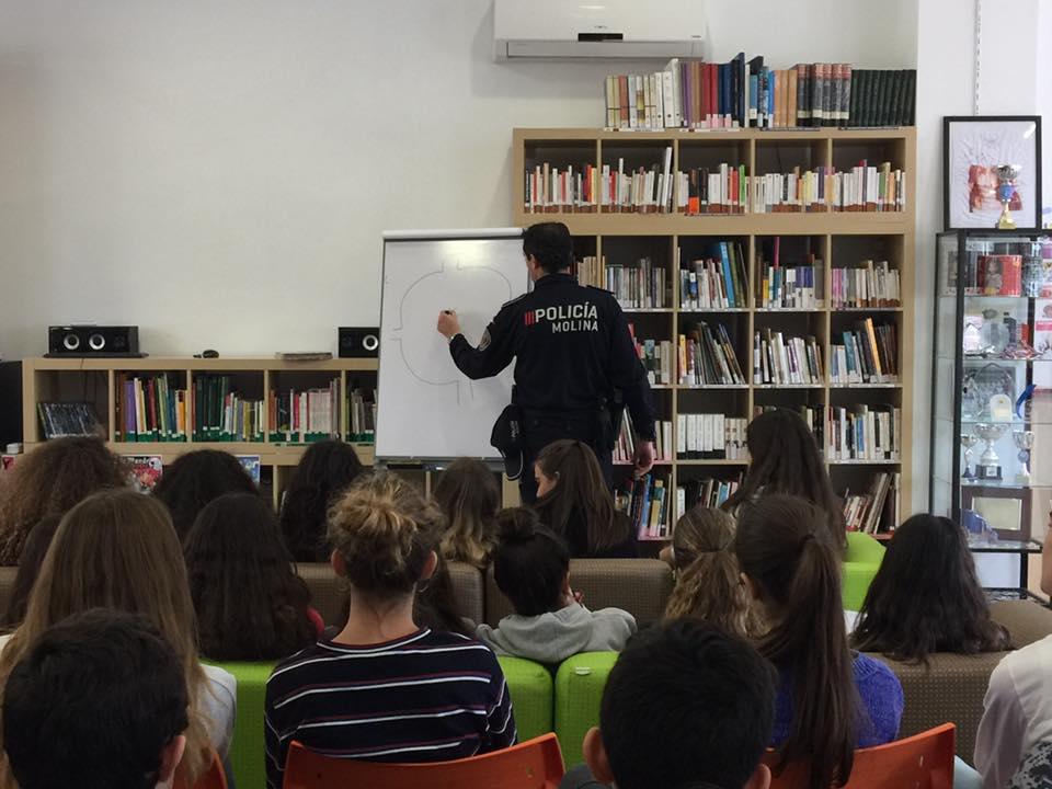 Clases de Seguridad Vial en el Liceo Francés Internacional de Murcia