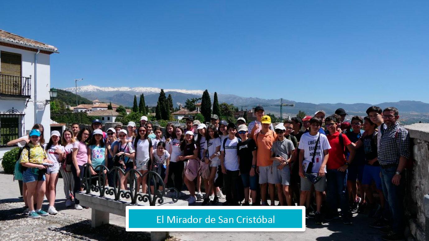 Viaje a Andalucía de los alumnos de 1º de la ESO