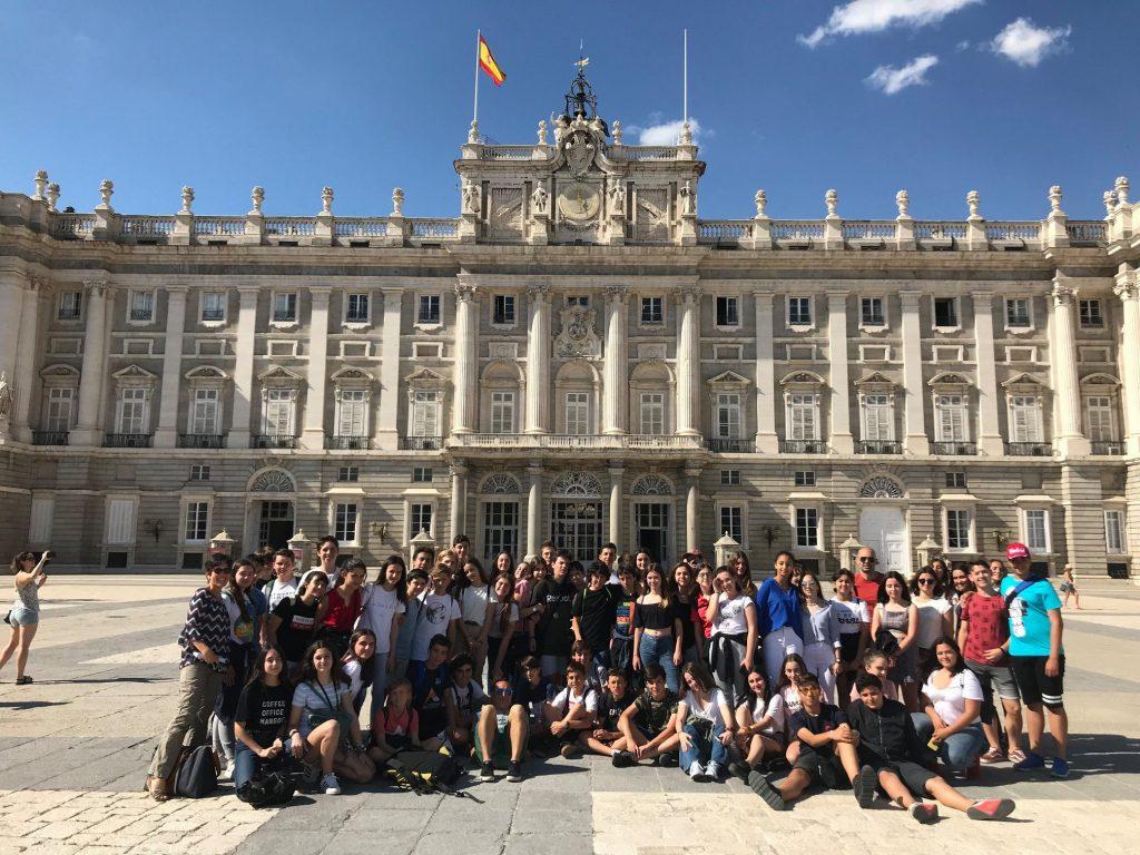 Segundo de la ESO visita Madrid, 2019